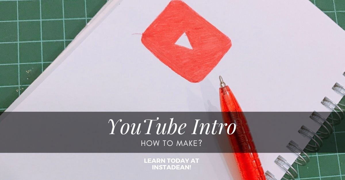 How to make youtube intro